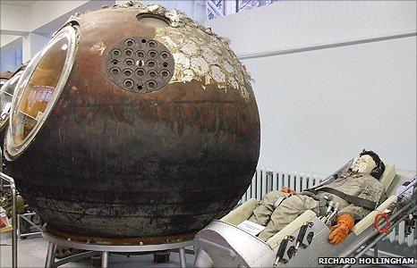 Yuri Gagarin's capsule