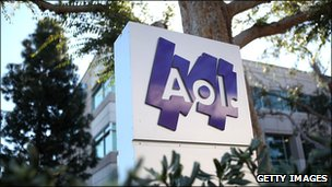 AOL building in Palo Alto, California