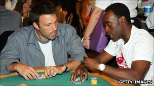 Ben Affleck and Don Cheadle