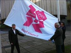 Jonathan Edwards and Councillor David Faulkner