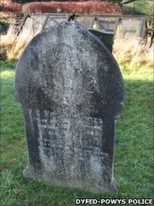 PC William Davies' grave