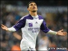 Morocco striker Mbark Boussoufa