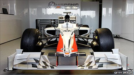 The new Hispania F111