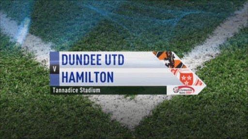 Dundee United v Hamilton