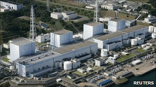File picture of the Fukushima 1 nuclear plant in  northeastern Japan