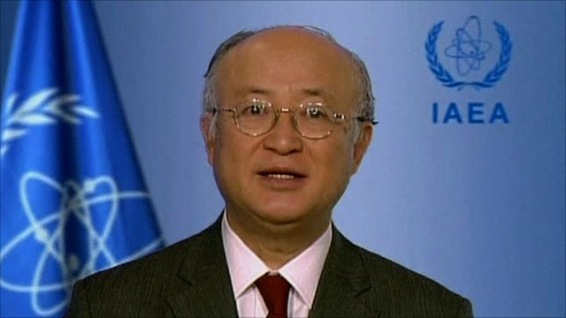 Director General of the IAEA Yukiya Amano