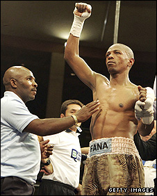 Burns is hoping for a unification fight with Mzonke Fana
