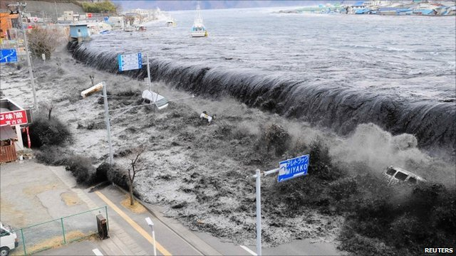 Japan Tsunami Footage To Help Predict on fire horn sound