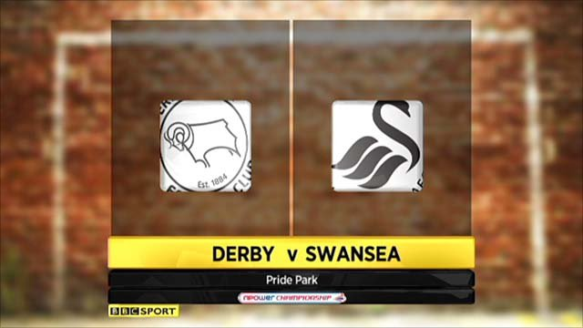 Highlights - Derby 2-1 Swansea