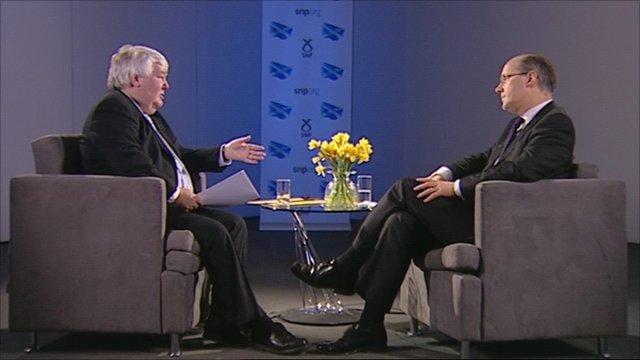 Brian Taylor interviews John Swinney