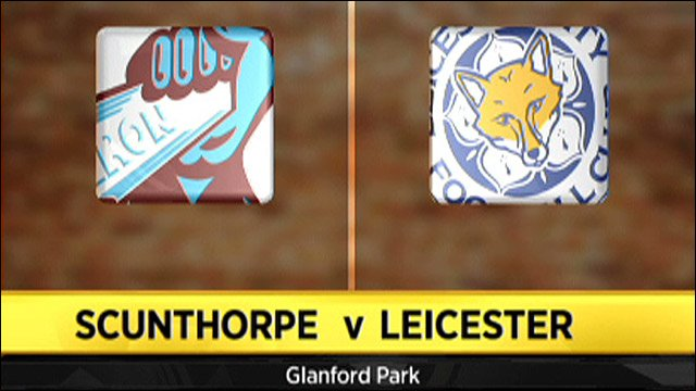 Scunthorpe v Leicester
