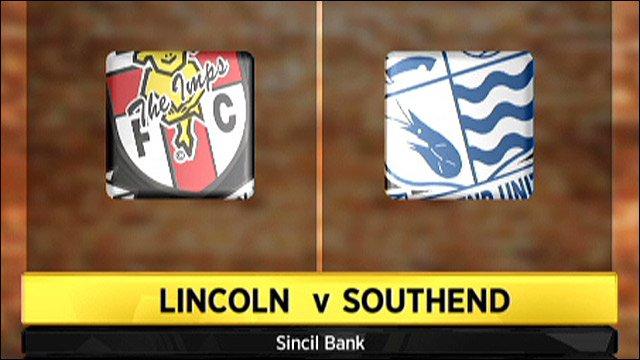 Lincoln v Southend