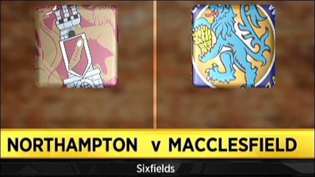 Northampton v Macclesfield