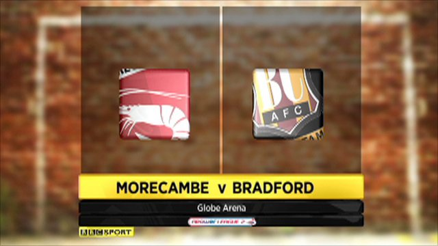 Morecambe vs. Bradford