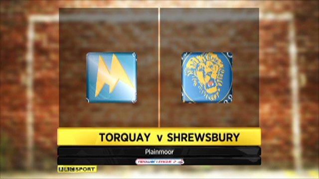 Torquay vs. Shrewsbury