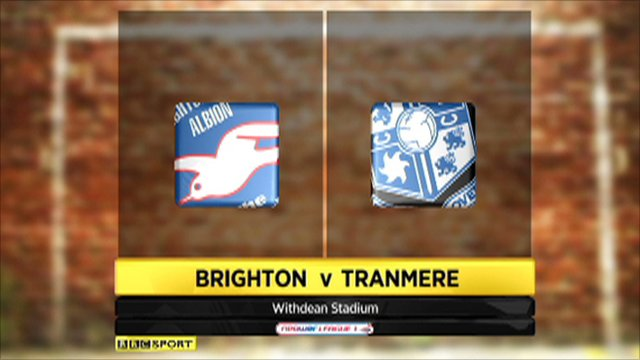 Brighton vs. Tranmere