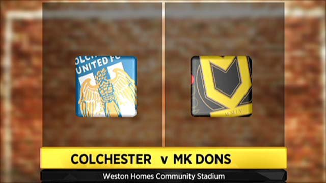 Highlights - Colchester 1-1 MK Dons