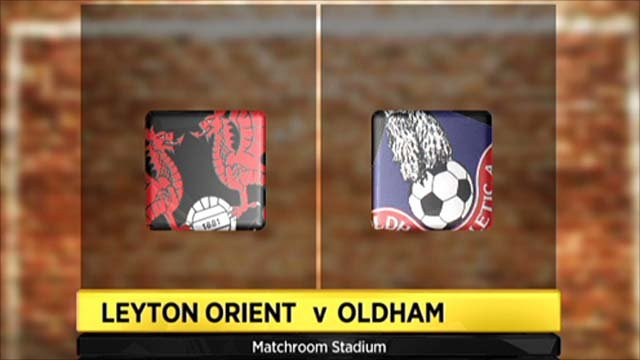 Highlights - Leyton Orient 1-0 Oldham