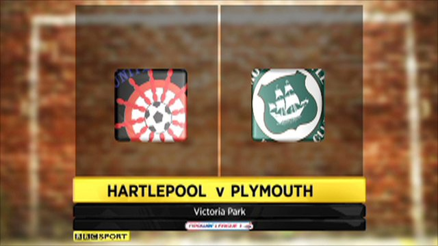 Hartlepool vs. Plymouth