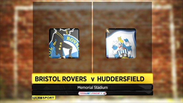 Bristol Rovers vs. Huddersfield