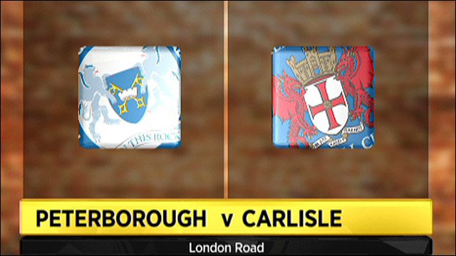 Peterborough v Carlisle