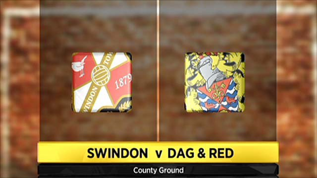Highlights - Swindon 1-1 Dag & Red
