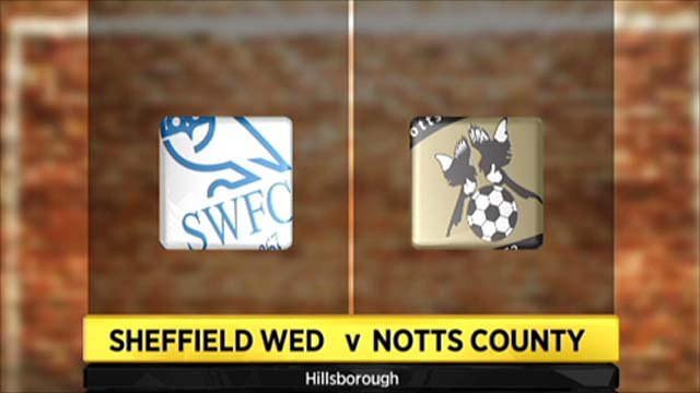 Highlights - Sheff Wed 0-1 Notts County