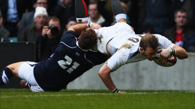 England flanker Tom Croft