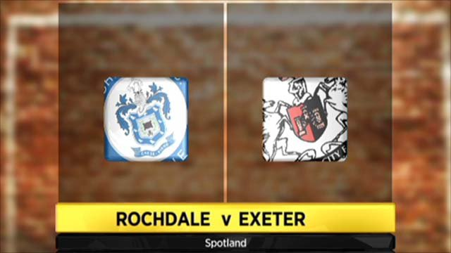 Highlights - Rochdale 0-1 Exeter