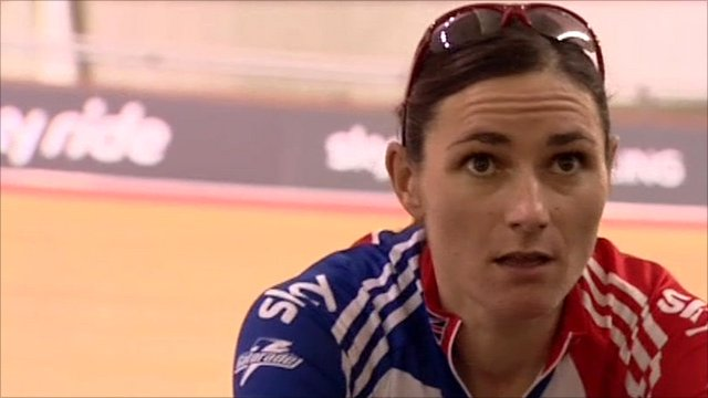 Para-cyclist Sarah Storey