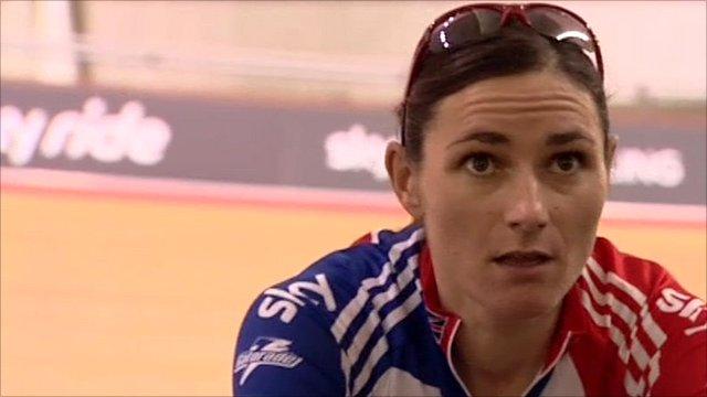 Para-cyclist Sarah Storey