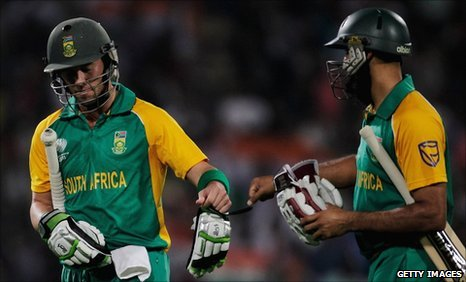 AB de Villiers and Hashim Amla