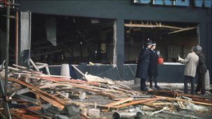 Mulberry Bush pub after the attack