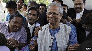 Muhammad Yunus leaves high court