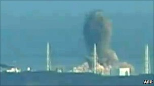 Explosion at Fukushima nuclear reactor