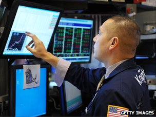 Specialist on the NYSE trading floor