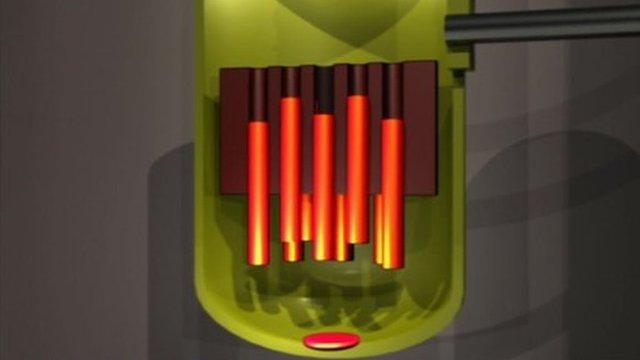 Reactor meltdown graphic