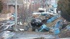 Kuji city tsunami damage. Photo: Lee Wood