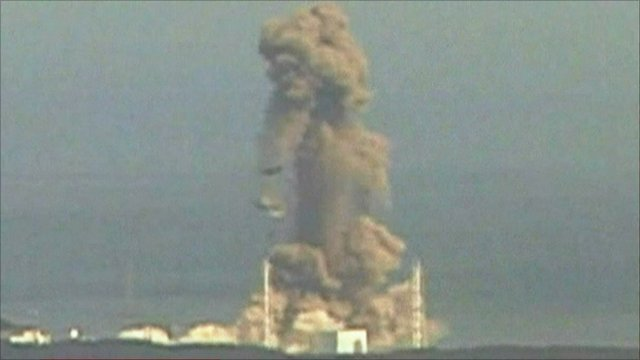 The third blast at the nuclear plant