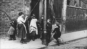 Victorian street children