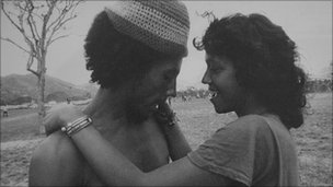Bob Marley and Esther Anderson in Trinidad