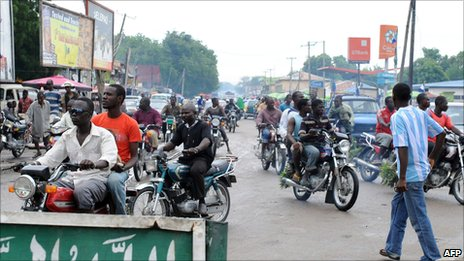 Street scene in Maiduguri