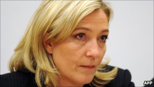 French National Front leader Marine Le Pen (15 March 2011)