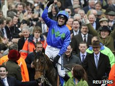 Ruby Walsh with Hurricane Fly
