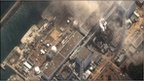 Fukushima nuclear power plant in the wake of the earthquake and tsunami