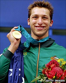 Ian Thorpe wins gold in Sydney in 2000