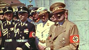 Hitler with senior Nazis