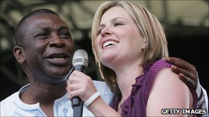 Youssou N'Dour and Dido at Eden