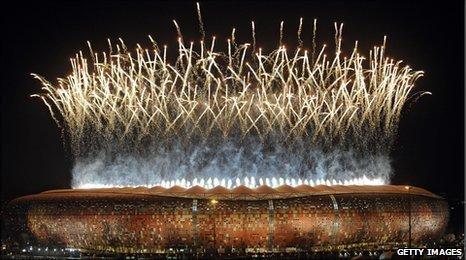 Johannesburg's Soccer City