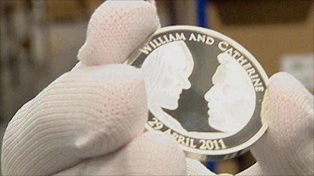 the royal wedding coin. Royal wedding coin